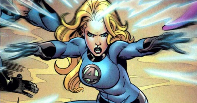 Quelle super-héroïne est cette blonde en combinaison moulante ?