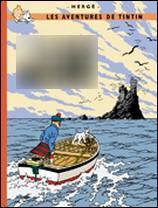 Quel est cet album où l'on peut voir Tintin sur un bateau ?