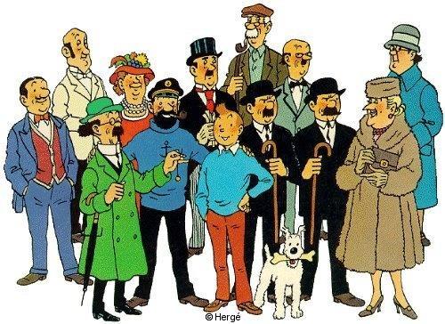 Les albums de Tintin 1/2 (TT)
