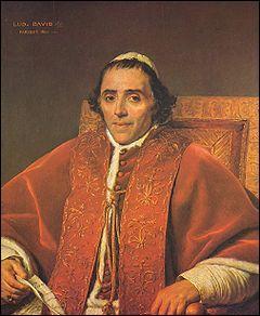 Ce pape est célèbre pour avoir couronné Napoléon, mais aussi pour son incontinence, c'est ....
