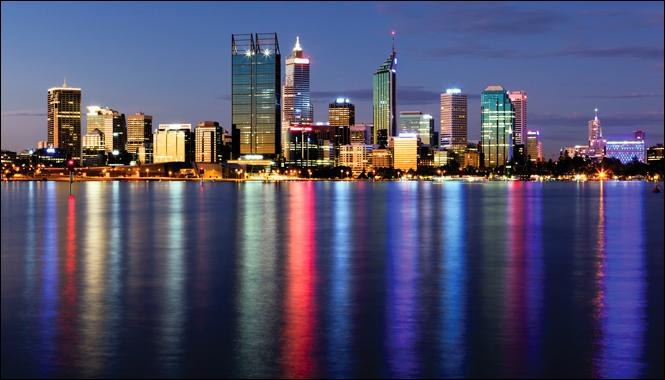 Où trouverez-vous Perth ?