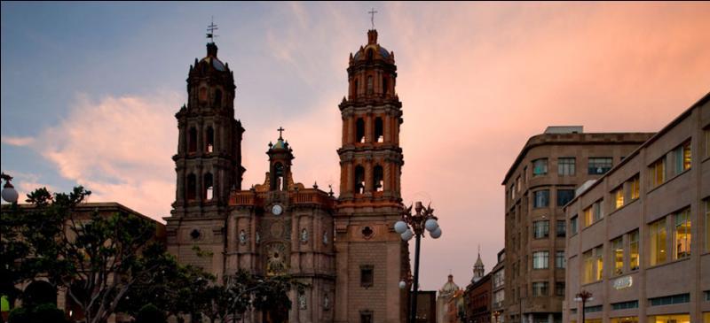 Dans quel pays d'Amérique centrale se trouve San Luis Potosí, capitale de l'état de même nom ?
