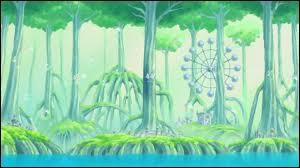 Comment s'appellent les arbres qui composent l'archipel des Sabaody ?