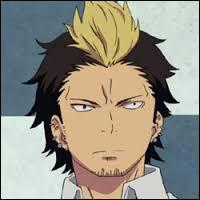J'ai une crête blonde. Je suis studieux et intelligent, comparé à Rin Okumura qui n'écoute rien à rien en cours. Qui suis-je ?