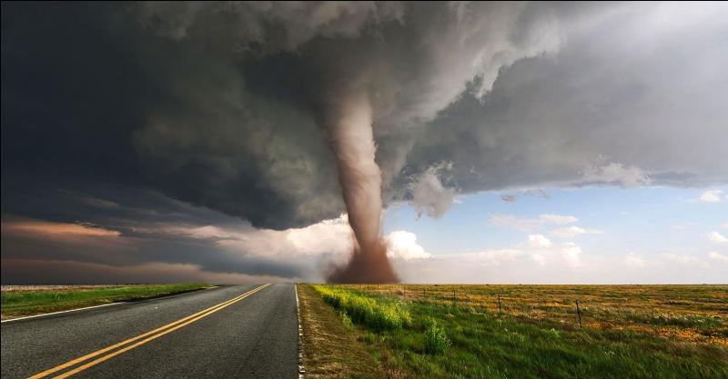 """Aux États-Unis, les tornades se forment principalement dans la région surnommée """"Tornado Alley"""" où l'on compte entre 700 et 1200 tornades par an. Selon vous, laquelle de ces régions correspond à """"Tornado Alley"""" ?"""