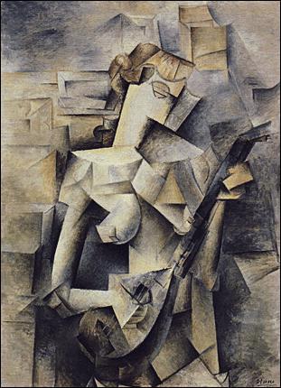 Oeuvre cubiste de Picasso :