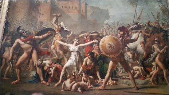 Toile de Jacques-Louis David :