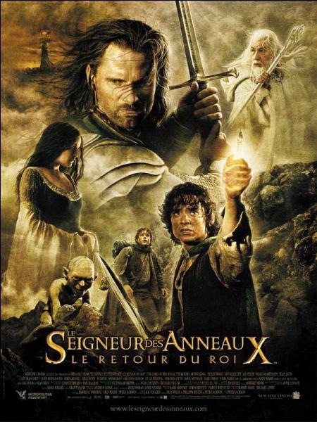 """Combien d'Oscars a reçu """"Le Seigneur des anneaux : Le Retour du roi"""" ?"""