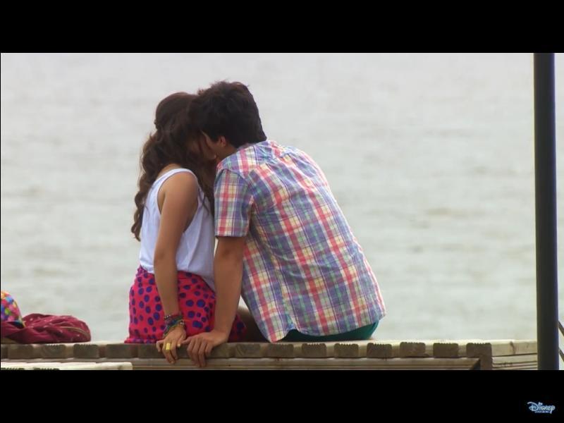 Dans quel épisode s'embrassent-ils ?