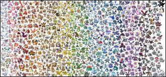 Combien y a-t-il de Pokémon jusqu'à la 6G ?