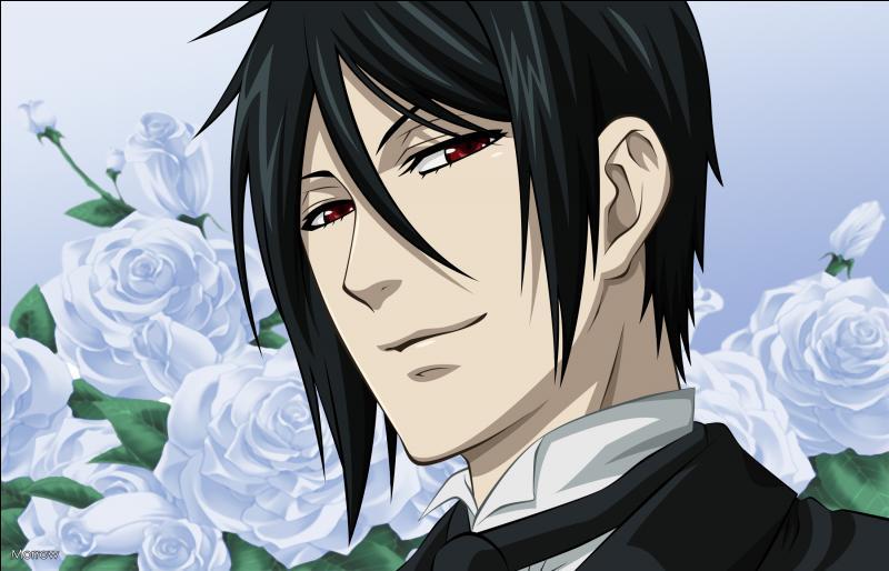 Si je vous dis qu'il s'agit d'un personnage de Black Butler, trouverez-vous de qui il s'agit ?