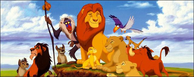 """Dans """"Le Roi lion"""", qui est Scar par rapport à Simba ?"""