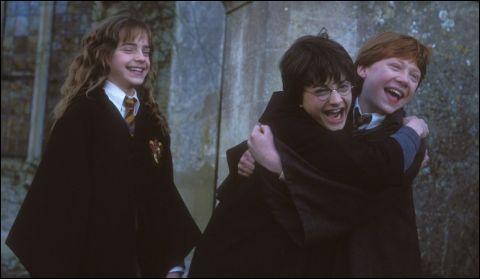 Quand Hermione est-elle devenue amie avec Harry et Ron?