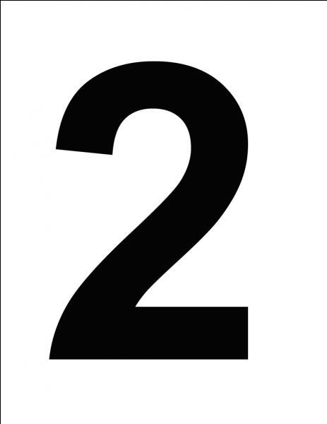 2 est un multiple de 2.