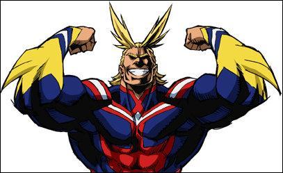 Quelle est la date d'anniversaire du super-héros All Might ?