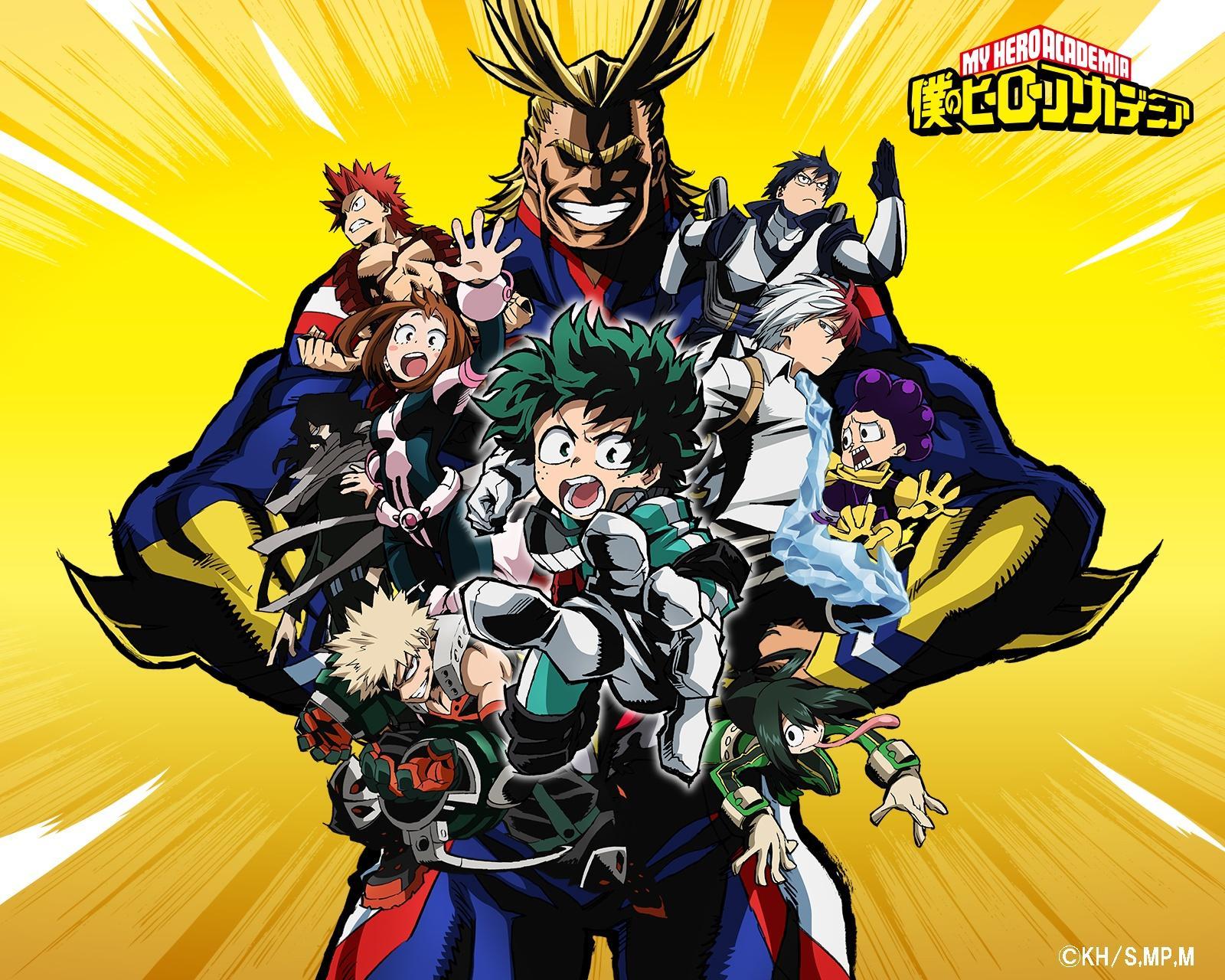 My Hero Academia - Anniversaires des personnages
