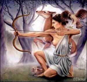 De quoi Artémis est-elle la déesse ?