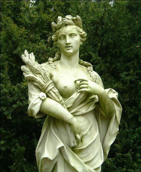 Qui est la déesse de la croissance et des aliments ?