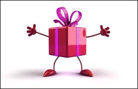Vous êtes invité à l'anniversaire d'un de vos amis. Il faut trouver un cadeau, vous...