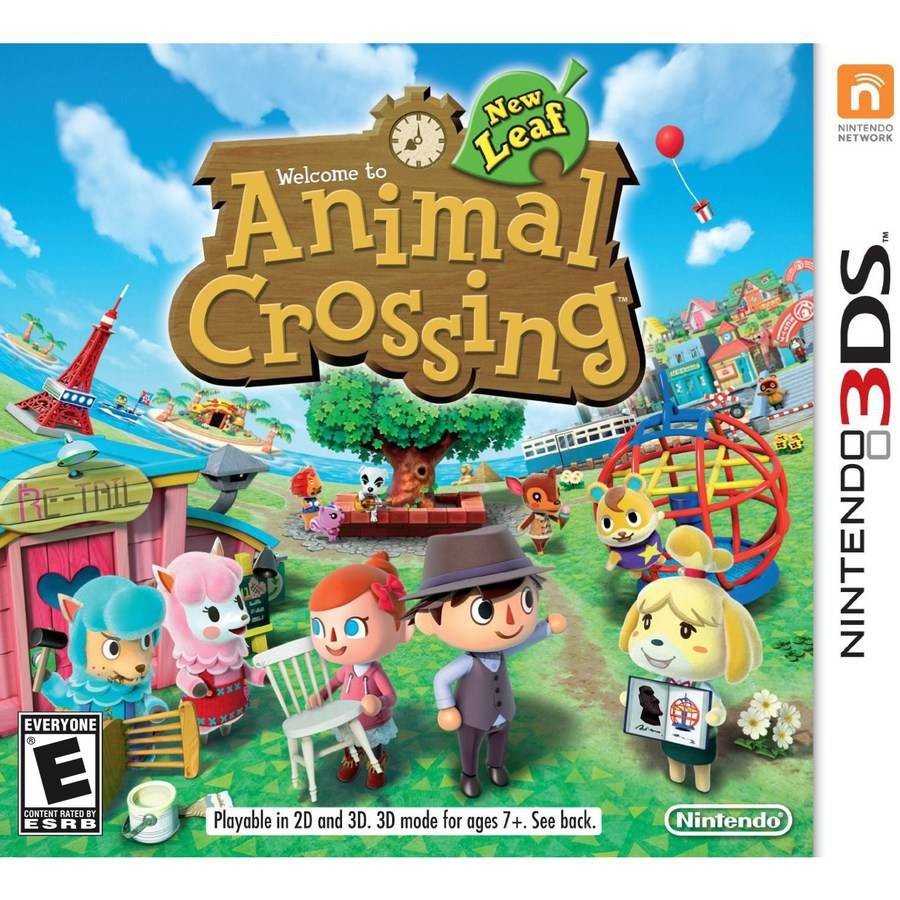 Questions sur ACNL (Animal Crossing New Leaf.)
