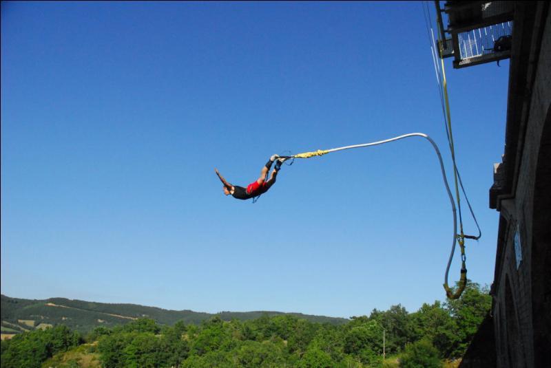 Ton meilleur ami te propose de faire un saut à l'élastique, acceptes-tu ?