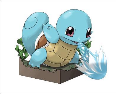 Carapuce est un Pokémon de...