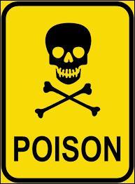 Quel est le poison pour les animaux ?