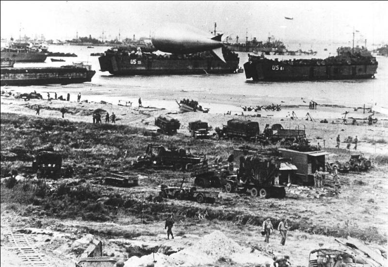 À quelle heure les Américains ont-ils débarqué sur Utah Beach ?