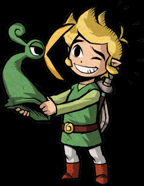 "Passons à la saga suivante : ""Zelda : The Minish Cap"". Quelle est la légende de ""Zelda : The Minish Cap"" ?"