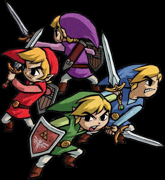 """Saga suivante : """"Four Swords"""". Étant donné que cette saga se passe après """"The Minish Cap"""", que se passe-t-il ?"""