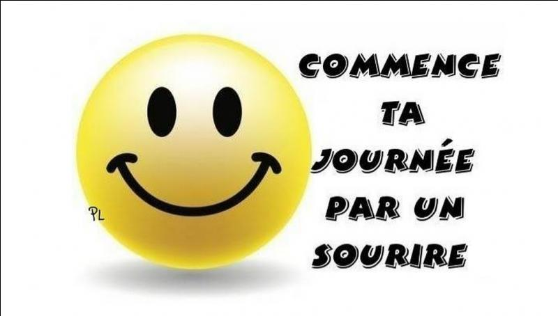 Aimez-vous faire des sourires ?