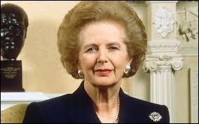Quel était le surnom de Margaret Thatcher qui fut Premier ministre du Royaume-Uni dans les années 80 ?