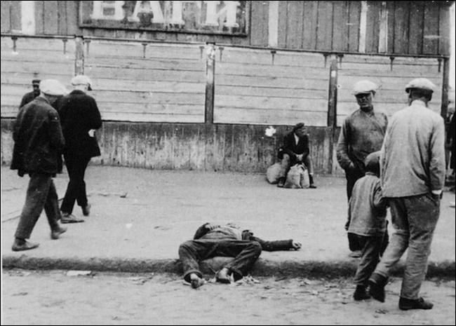 Que signifie Holodomor (голодомо́р) ?