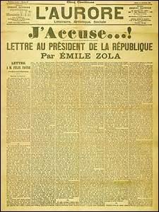 L'affaire Dreyfus a débuté en :