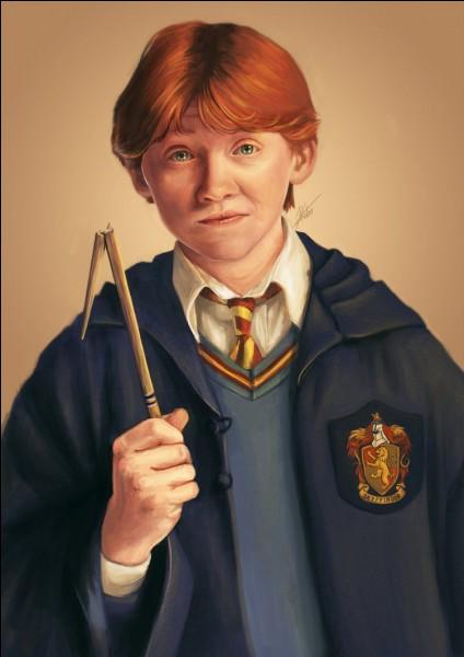 Ron a peur de quoi comme animal ?