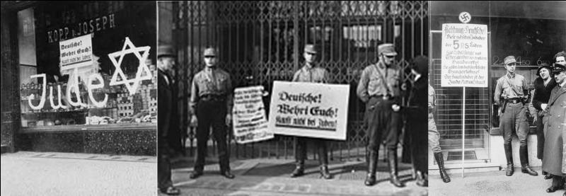 Le 01 avril 1933 : Goebbels, le ministre de la propagande, annonce une grande victoire indiscutable. Mais la réalité est tout autre, l'action des nazis est un échec relatif.Que s'est-il passé ?