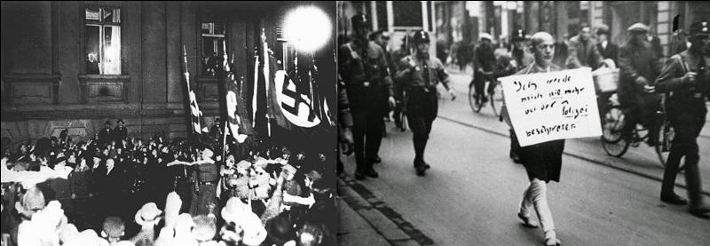 Le 07 avril 1933 : Deux lois antisémites sont promulguées par le gouvernement nazi. Elle touche une grande partie de la population.Quelles sont les professions touchées ?