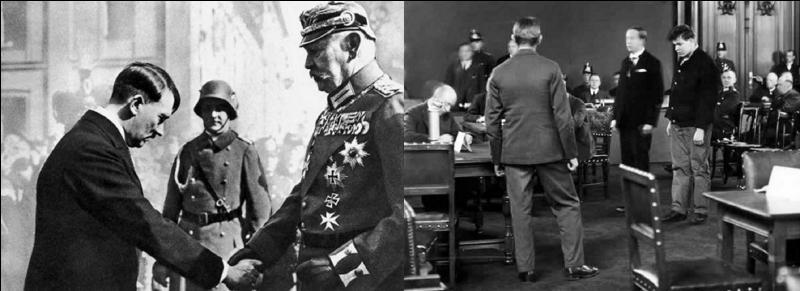 Le 28 février 1933 : A la suite de cet attentat (question précédente), Hitler obtient du président Paul Hindenburg la promulgation d'un décret.Quelle en est la principale teneur de ce décret ?