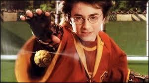 Dans quel livre Harry attrape-t-il le Vif d'or en l'avalant presque ?