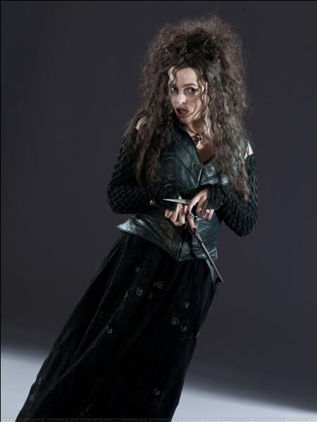 Bellatrix Lestrange a pris Ginny en otage dans le manoir des Malefoy. Que fais-tu ?