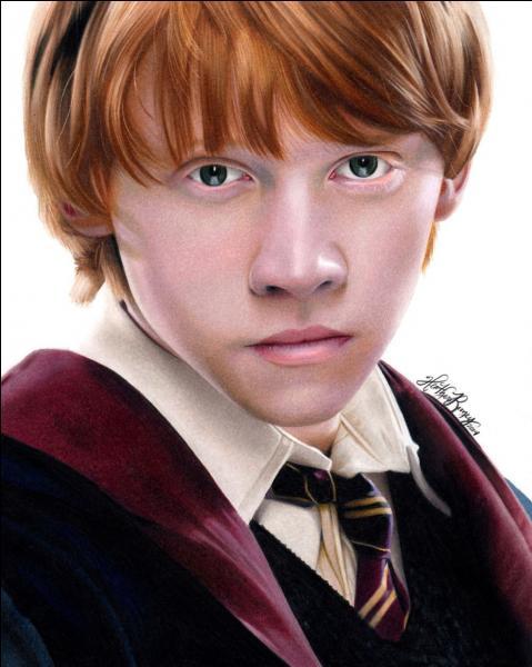 Si je te dis Ron Weasley, tu dis :