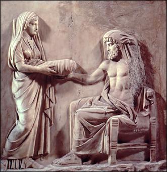 Qui est le fils de Cronos et de Rhéa ?