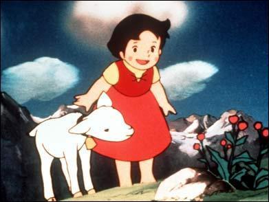 """""""Heidi"""" est une série télévisée d'animation..."""