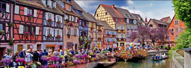 """Le Haut-Rhin occupe la partie """"nord"""" de l'Alsace."""