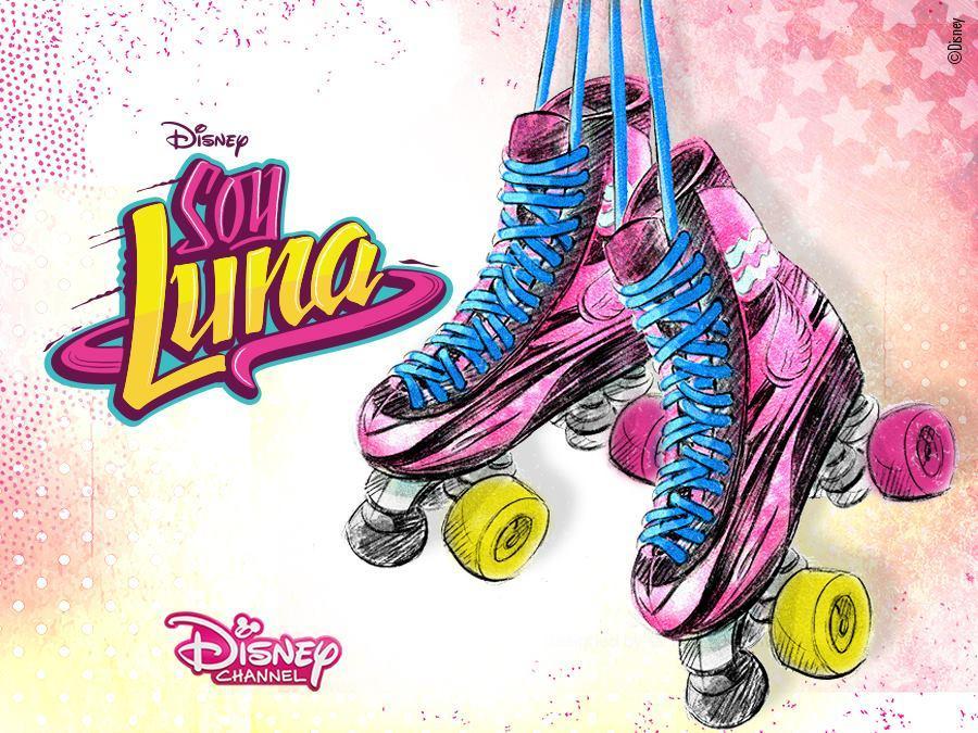 Soy Luna les patins