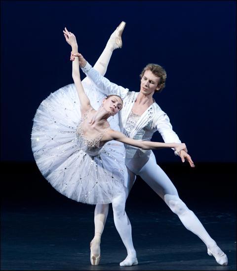 Voici une danseuse russe qui commence à devenir très connue...