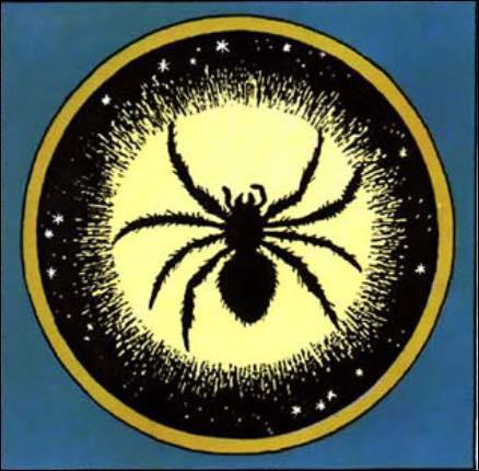 """Quelle espèce d'araignée Tintin voit-il dans le téléscope, au début de """"L'Étoile mystérieuse"""" ?"""