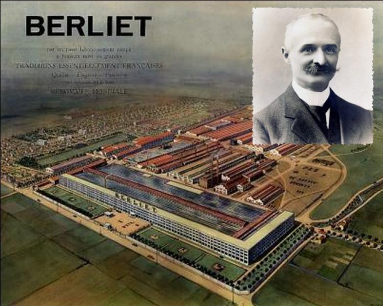 Marius Berliet, fondateur des automobiles puis des camions portant son nom, érige en 1916 son usine principale à...