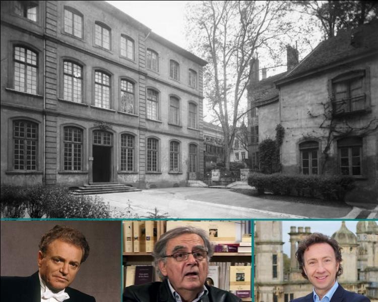 Lequel de ces célèbres animateurs de la télévision né à Lyon, est sorti diplômé de l'Ecole Supérieure de Commerce de cette ville?