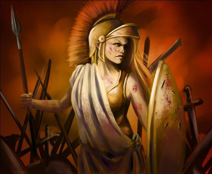 Quel animal représente Athéna, déesse grecque de la guerre ?